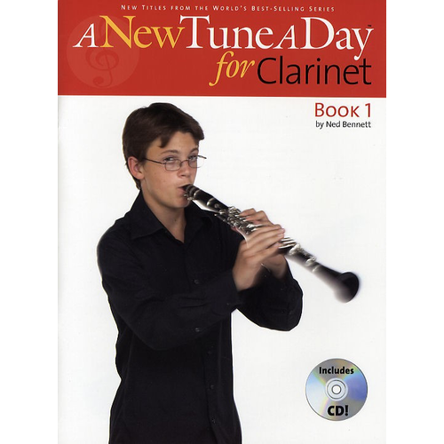 Boston Music A New Tune A Day: Clarinet - Book 1 (CD Edition)
