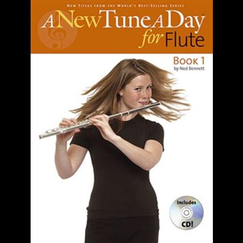Boston Music A New Tune A Day: Flute - Book 1 (CD Edition)