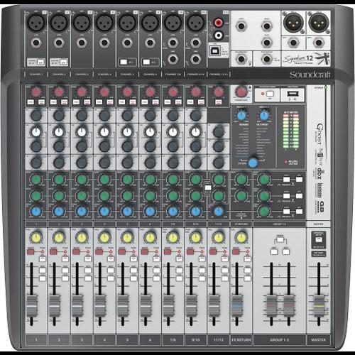Soundcraft Soundcraft Signature 12 MTK Mixer