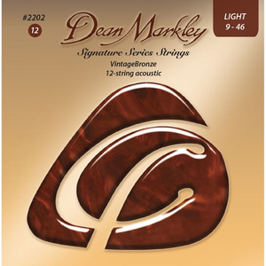Dean Markley 12-String Guitar String Set, 80/20 Bronze, .009-.046