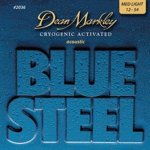 Dean Markley Blue Steel Acoustic String Set, Phosphor Bronze