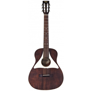 Vintage Gemini Paul Brett Baritone Electro-Acoustic, All Solid, Spruce Top, Mahogany Back, Antiqued Stain