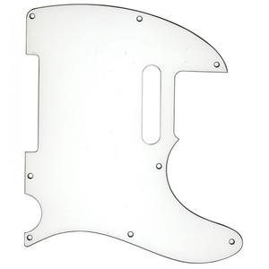 Guitar Tech Tele-Style Scratchplate/Pickguard, White
