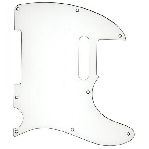 Guitar Tech Guitar Tech Tele-Style Scratchplate/Pickguard, White