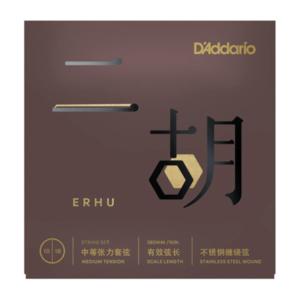 D'Addario ERHU01 Erhu Strings, Medium Tension, .010-.018