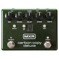 MXR M292 Carbon Copy Deluxe Analogue Delay Pedal