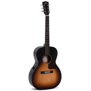 Sigma LM-SGE+ Electro-Acoustic Parlour, Solid Spruce Top, Mahogany Back