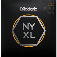 D'Addario NYXL Electric String Set, Double Ball End