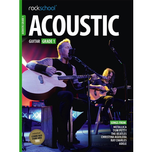 Rockschool Acoustic Guitar - Grade 1 (2016+)