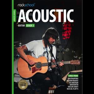 Rockschool Acoustic Guitar - Grade 3 (2016+)