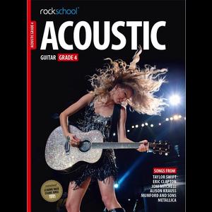 Rockschool Acoustic Guitar - Grade 4 (2016+)