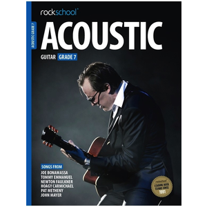 Rockschool Acoustic Guitar - Grade 7 (2016+)