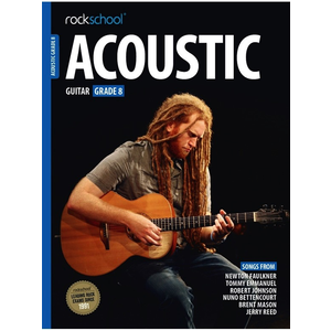 Rockschool Acoustic Guitar - Grade 8 (2016+)