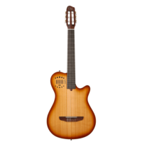 Godin MultiAc Grand Concert Duet Ambience Nylon, Light Burst