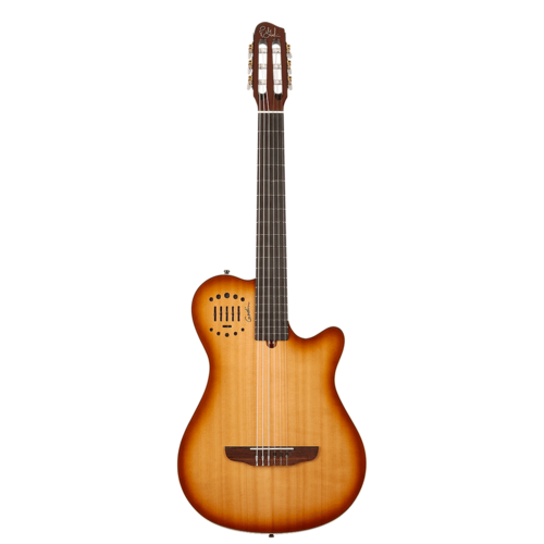 Godin Godin MultiAc Grand Concert Duet Ambience Nylon, Light Burst