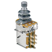 Alpha 500k Audio (Log) Ultra Push-Pull Potentiometer, Volume, Metric for most Far Eastern