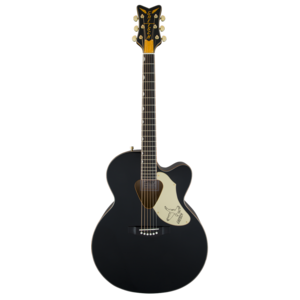 Gretsch G5022CBFE Rancher Jumbo Falcon, Cutaway Electro-Acoustic, Black