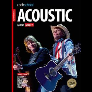 Rockschool Acoustic Guitar - Grade 5 (2016+)