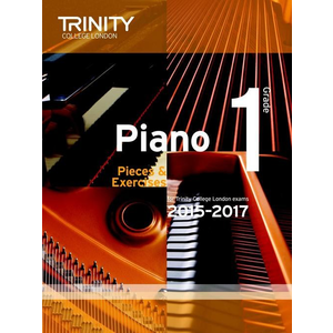 Trinity College London: Piano Exam Pieces & Exercises 2015-2017 - Grade 1 (Book Only)