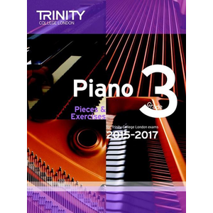 Trinity College London: Piano Exam Pieces & Exercises 2015-2017 - Grade 3 (Book Only)