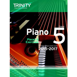 Trinity College London: Piano Exam Pieces & Exercises 2015-2017 - Grade 5 (Book Only)