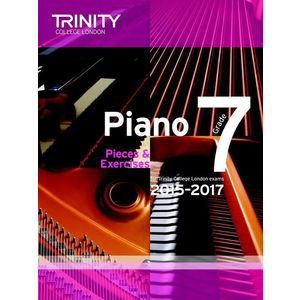 Trinity College London: Piano Exam Pieces & Exercises 2015-2017 - Grade 7 (Book Only)
