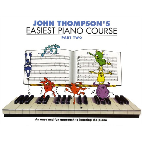John Thompson's Easiest Piano Course: Part 2 - Revised Edition
