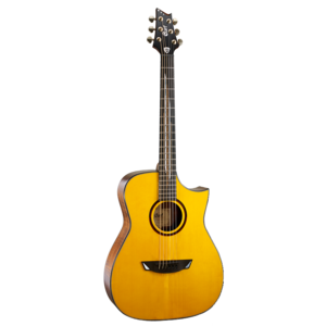 Cort Frank Gambale Signature Luxe Electro-Acoustic, All Solid, Adirondack Spruce Top, Flamed Blackwood Back