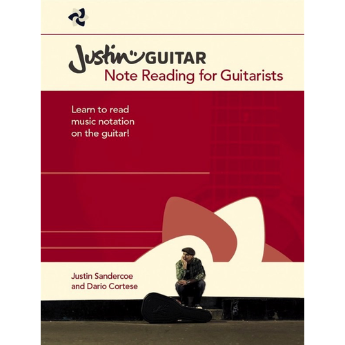 Wise Publications Justinguitar.com Note Reading For Guitarists