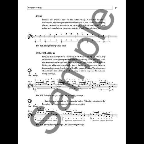 Hal Leonard Kim Perlak: Classical Technique For The Modern Guitarist (Book/Online Audio)