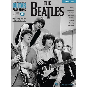 Guitar Play-Along Volume 25: The Beatles