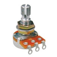 Alpha 250k Audio (Log) Mini Potentiometer, Volume, Metric for most Far Eastern