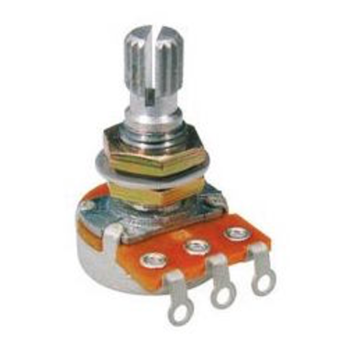 Alpha Alpha 250k Audio (Log) Mini Potentiometer, Volume, Metric for most Far Eastern