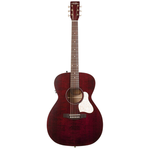 Art & Lutherie Legacy Concert Hall Electro-Acoustic, Solid Spruce Top, Wild Cherry Back, Tennesse Red w/ Q1T Pickup