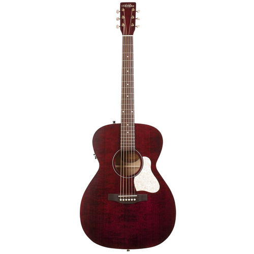 Art & Lutherie Art & Lutherie Legacy Concert Hall Electro-Acoustic, Solid Spruce Top, Wild Cherry Back, Tennesse Red w/ Q1T Pickup