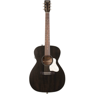 Art & Lutherie Legacy Concert Hall Electro-Acoustic, Solid Spruce Top, Wild Cherry Back, Faded Black w/ Q1T Pickup