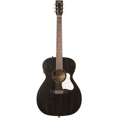 Art & Lutherie Art & Lutherie Legacy Concert Hall Electro-Acoustic, Solid Spruce Top, Wild Cherry Back, Faded Black w/ Q1T Pickup