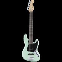 Fender Deluxe Active 5-String Jazz Bass V, Pau Ferro Fingerboard, Surf Pearl