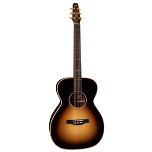 Seagull Artist Studio Concert Hall Sunburst HG Element, All Solid, Spruce Top, Rosewood Back, LR Baggs Element, w/ TRIC Case