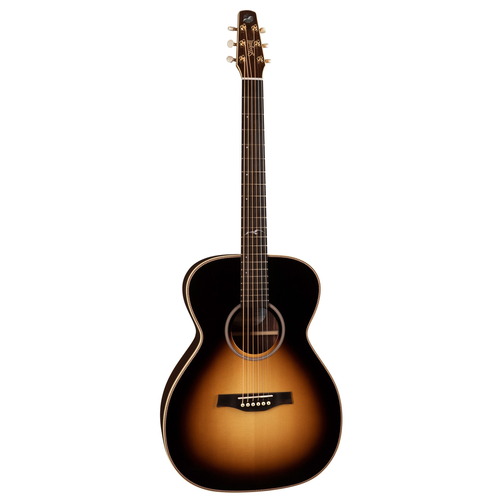 Seagull Seagull Artist Studio Concert Hall Sunburst HG Element, All Solid, Spruce Top, Rosewood Back, LR Baggs Element, w/ TRIC Case