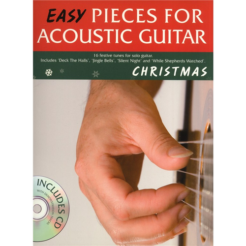 Wise Publications Easy Pieces for Acoustic Guitar: Christmas