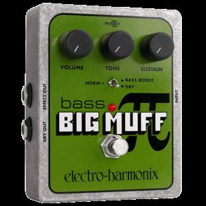 Electro Harmonix Bass Big Muff Pi Fuzz Pedal