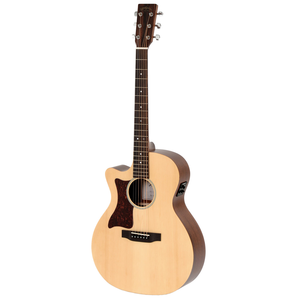 Sigma GMC-STEL Left Handed Grand Auditorium Electro, Solid Spruce Top, Mahogany Back, Satin Finish