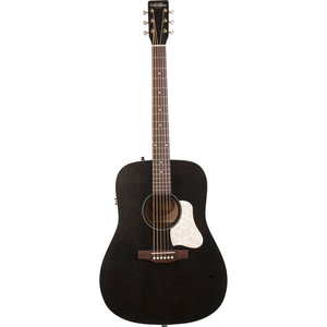 Art & Lutherie Americana Dreadnought Electro-Acoustic, Solid Spruce Top, Wild Cherry Back, Faded Black w/ Q1T Pickup