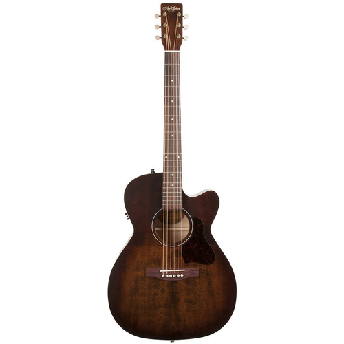 Art & Lutherie Art & Lutherie Legacy Concert Hall Electro-Acoustic, Solid Spruce Top, Wild Cherry Back, Cutaway, Bourbon Burst w/ Q1T Pickup