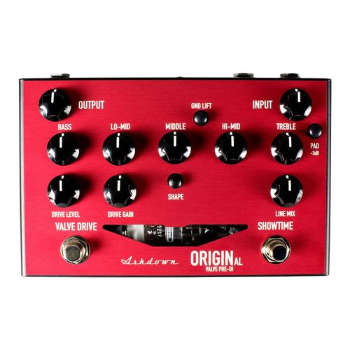 Ashdown Ashdown OriginAL Valve Pre-DI Bass Preamp Pedal