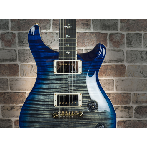 PRS PRS McCarty Limited Edition 10 Top, Charcoal Blueburst #237282