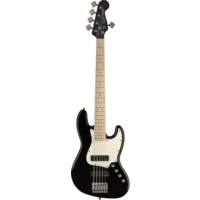 Squier Contemporary 5-String Active Jazz Bass HH V, Black