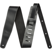 Fender Strap Broken-In Leather, Black