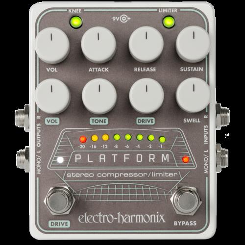 Electro Harmonix Electro Harmonix Platform Stereo Compressor/Limiter Pedal